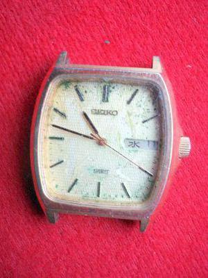 Antiguo reloj seiko quarz japan caja repuesto no probado no