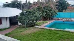 Hermosa y amplia casa parque quincho pileta grande en villa