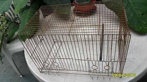 Jaula para aves sin piso alto 30x48x24 cms