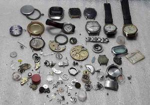 Lote relojes bulova election orient partes repuestos #1