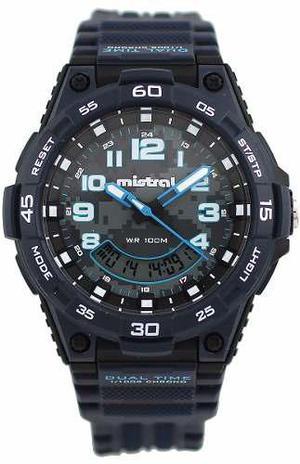 Reloj mistral hombre gadg-15673-02 envio gratis