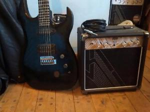 Vendo guitarra con amplificador de 10w 2 meses de uso con