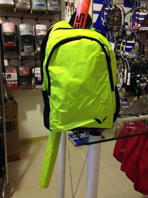 bb57933f4 Mochila hockey reves verde fluo porta palos tip funda bolso