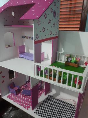 Casitas de muñecas en mdf