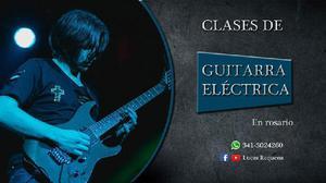 Clases de guitarra eléctrica en rosario centro