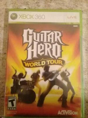 Guitar hero 4 world tour xbox360