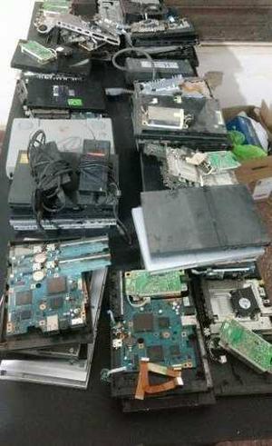 Lote playstation 1 2 y 3 a reparar repuestos