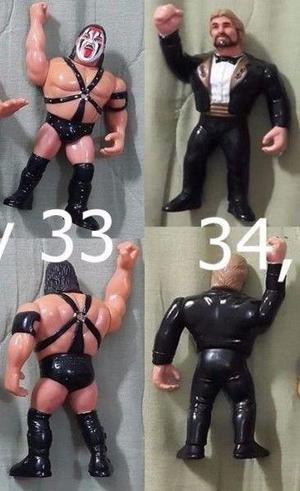 Muñecos de lucha libre