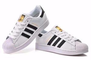 Zapatillas adidas superstar + caja talles 34/43 envío