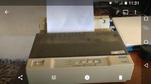 Impresora epson lx 300 funcionando