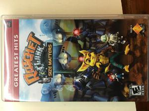 Juego playstation portable psp original ratchet clank