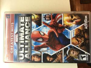 Juego playstation portable psp original ultimate alliance