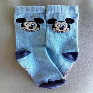 Medias niño soquete mickey mouse disney algodón infantiles