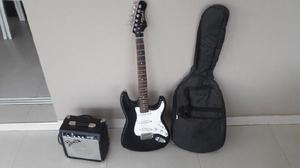 Amplificador fender y guitarra eléctrica texas.