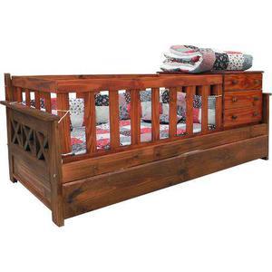 Cama cuna funcional anteo + divan cama + carro cama + lustre