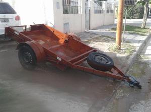 Carro trailer apto para cuatriciclo