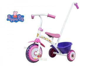 Triciclo peppa pig (oficial) con manija - racer bikes