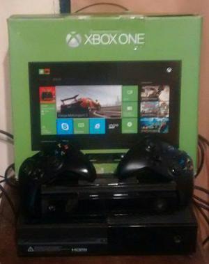 Xbox one + kinect + 2 joystick + auricular + 21 juegos