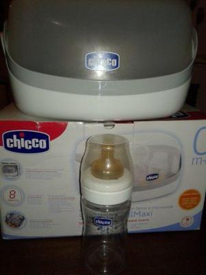 Esterilizador CHICCO para Microondas Mamadera NUEVA