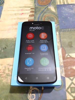 Moto c plus nuevos