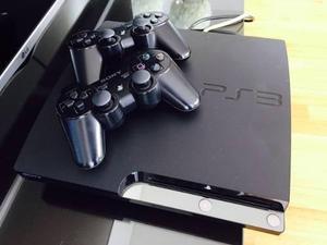 Playstation 3 - ps3 320 gb / 2 joysticks wireless / 7 juegos
