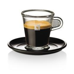 Set 4 tazas y platos nespresso! 2 expreso y 2 cappucino