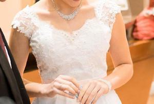 Vestido de novia, unico uso perfecto estado!