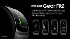 Smartwatch samsung gear fit 2 pro resistente agua