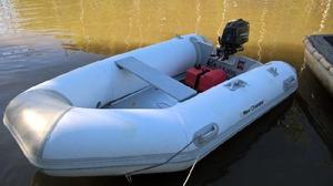 Vendo equipo: gomon five oceans 2.70 mts./motor fb power tec