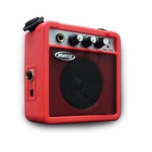 Amplificador matrix portatil a bateria con distorsion varios
