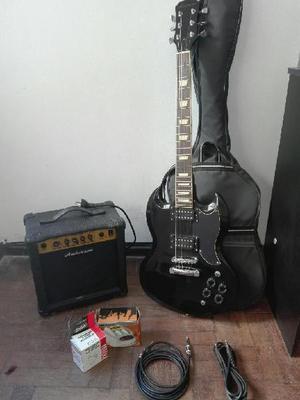 Guitarra eléctrica amplificador accesorios