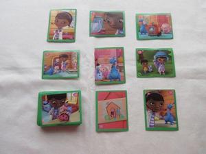 Lote de 83 figuritas de la doctora juguetes, variadas más