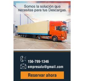 Ofrecemos peones para carga y descarga de camiones