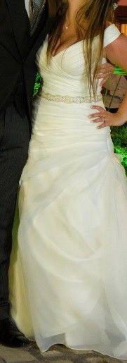 Vestido novia rosa clará (diseñadora esposa messi)