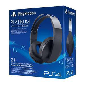 Headset platinum 7.1 audio 3d batería extendida ps4 ps3 pc