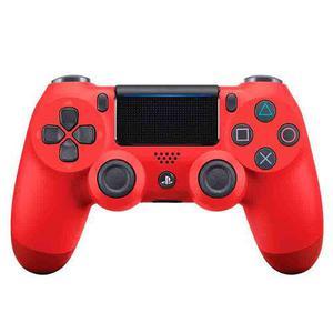 Joystick dualshock 4 v2 sony original rojo sellado fact a b