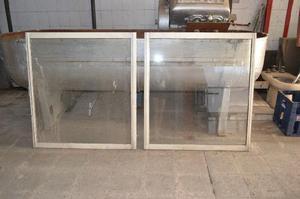 Ventanas de aluminio corredizas con vidrio
