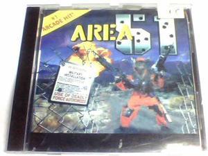 Area 51 para ps1 y ps2 chipeada disco plateado