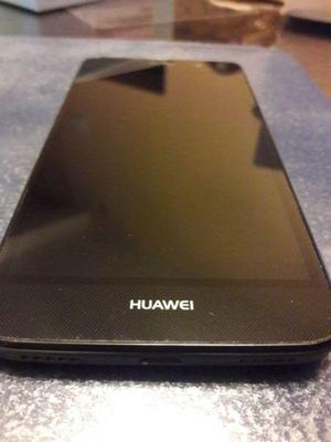Huawei y6 negro libre.con caja, auriculares, usb cargador y
