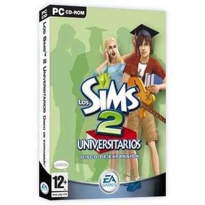 Los sims 2 universitarios juego pc original fisico