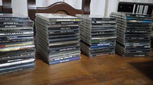 Lote 62 juegos play station1 2 estanterias plasticas de cd