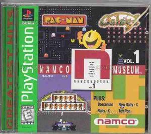 Namco museum vol. 1 (playstation)
