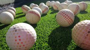 Pelotas de golf para practica, recuperadas