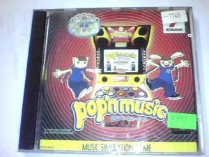Pop'n music - ps1 - disco plateado - ojh