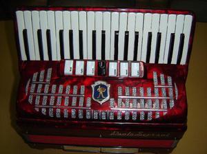 Acordeon paolo soprani 80 bajos italiana legitima y original