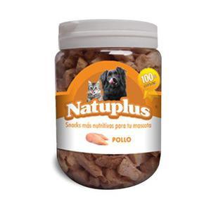 Golosinas perro gatos higado pollo y pescado natuplus 100 g