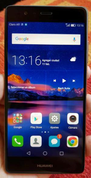 Huawei p9 libre doble camara huella digital.