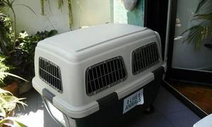 Jaula de tranporte para mascotas, numero 4 con ruedas!!!