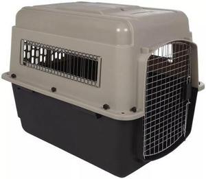 Jaula transportadora canil caja vari kennel 71x52x55 cm iata