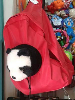 Mochila transporte mascota gato perro chico morral